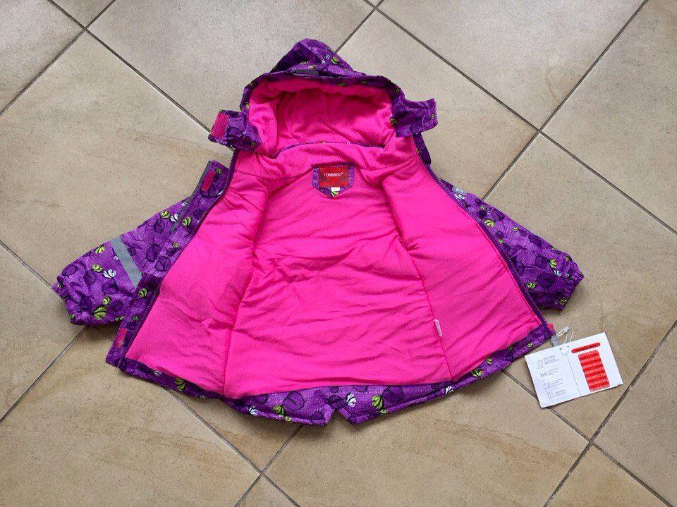 Куртка для девочки Tornado отзывы