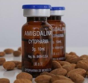 Витамин б17 (лаэтрил)- инъекция (10 ампул, в каждой по 3 г Амигдалина)