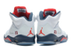 Air Jordan V White/Blue/Red (41-45)
