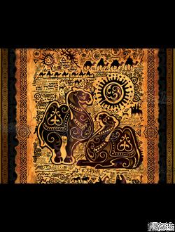 art-композиция « Верблюд – символ богатства ».