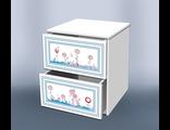 Тумба милые мишки с ящиками