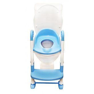 Горшок трансформер 3 в 1 горшок, насадка со ступенькой ROXY KIDS голубой