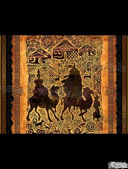 art-композиция «Караван».