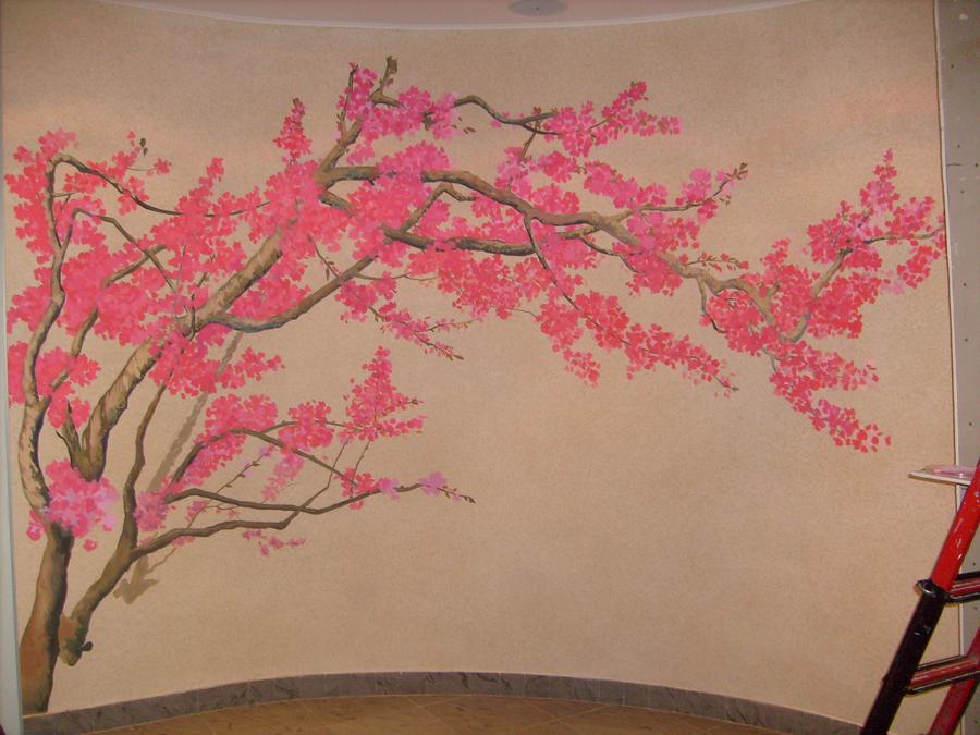 Роспись стен.казань