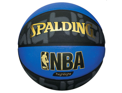 "Мяч баск. ""SPALDING NBA Highlight Blue"" р.7"