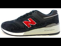 Мужские кроссовки New Balance 997 Blue Размеры (47-50)