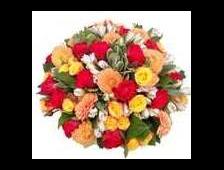Корзина цветов Микс Плюс