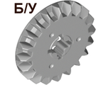 ! Б/У - Technic, Gear 20 Tooth Bevel, Light Bluish Gray (32198 / 4211885 / 6031956) - Б/У