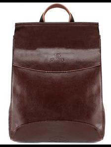 Рюкзак женский PYATO 8888-К коричневый p-058