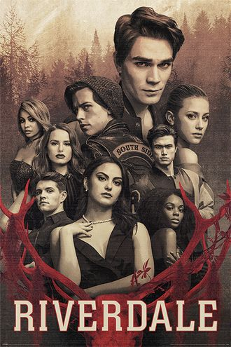 Постер Maxi Pyramid: Riverdale (Let the Game Begin)