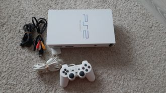 Sony Playstation 2 SCPH - 50000 Ceramic White
