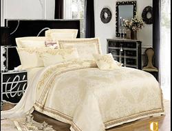 Артикул H032. Элитное постельное белье на 100% хлопковой основе с использованием шелковой нити,декорировано вышивкой