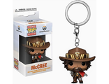 Брелок Funko Pocket POP! Keychain: Overwatch: McCree