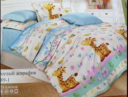 ЖИРАФЫ. Качественное и красивое постельное белье из поплина, только 100% хлопок.