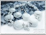 Украшения из натуральных камней. Колье и серьги из кварца купить. Бижутерия из натуральных камней.