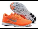 Nike Free Run 5.0 v3 женские оранжевые (36-40)