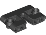 Technic, Pin Connector Block, Liftarm 1 x 3 x 5 with Cutout, Black (67139 / 6302094)