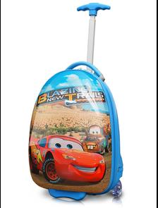 Детский чемодан на 2 колесах - Тачки МакВин / The Cars McQueen «Disney» - синий