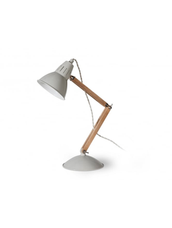 Bermondsey Table Light in Chalk - Steel   цвет Мел   арт.LWO01