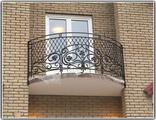 Кованые балконные ограждения перила