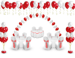 """Оформление шарами пакет """"День Рождения"""""""