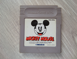 Mickey Mouse для Game Boy