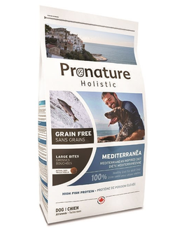 Pronature Holistic Grain Free  Mediterran / ПРОНАТЮР Средиземноморское меню  Полноценный корм для собак Без зерна