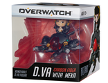 Фигурка Blizzard Cute But Deadly Overwatch Carbon Fiber D.Va with Meka