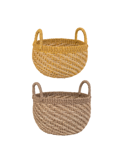 PANIER X2 ABAKA NATUREL+CURRY, арт.33821
