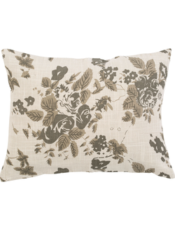 Подушка 200548 RECTANGULAR CUSHION MARIE-LISE TAUPE 40X30 COTTON