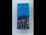 DHT11 модуль датчика влажности и температуры со светодиодной индикацией и подтягивающим резистором