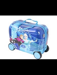 Детский чемодан на 4 колесах Frozen Disney blue / Холодное сердце Дисней синий - 3