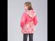 Куртка для девочек C5808, Jan Steen ( цвет розовый сзади)