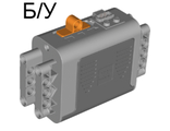 ! Б/У - Electric 9V Battery Box 4 x 11 x 7 PF with Orange Switch, Light Bluish Gray (59510) - Б/У