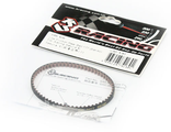 3Racing Low Friction Rear Belt 177 (Bando) For Sakura D4 XI