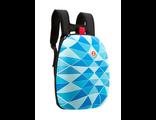Молодежный рюкзак Zipit SHELL BACKPACKS голубой