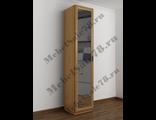 Узкий шкаф с зеркалом ШКР(I)№3