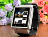 Смарт часы Zgpax S6 (Android 4.0.4/Экран 1,5''/1Ггц/512МБ/4ГБ/240x240/Камера 2Мп)