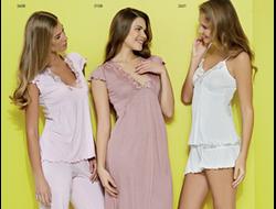 Пижамы и ночнушки из бамбука