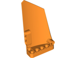 Technic, Panel Fairing #17 Large Smooth, Side A, Orange (64392 / 4618384 / 6135079)