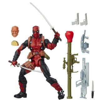 Дедпул с оружием и маской / Marvel Legends Series Deadpool