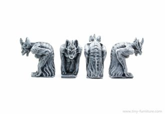 NOTRE DAME'S GARGOYLES №2 (PAINTED) special offer