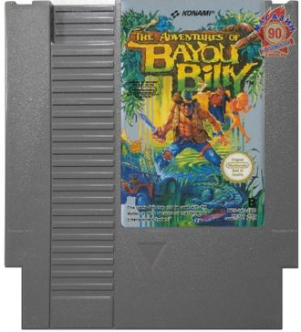 """Adventures of Bayou Billy"" Игра для NES (Made in Japan)"