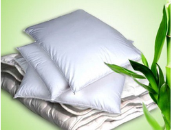 Подушки, одеяла и наматрасники