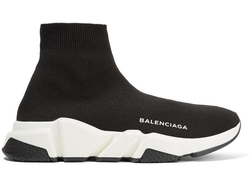 Balenciaga Speed Trainer Triple Black-white  Мужские (40-45)