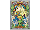 Постер Maxi Pyramid: Nintendo: The Legend Of Zelda (Stained Glass)
