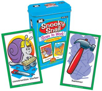 Snooky snail goes to work