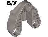 ! Б/У - Technic, Pin Connector 3 x 3 with Axle and 3 Pin Holes, Pearl Light Gray (32175 / 4251745) - Б/У