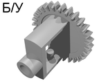 ! Б/У - Technic, Gear Differential (Old Style, 28 Teeth), Light Gray (73071) - Б/У