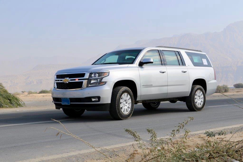 Various premium class armored full-size SUVs, based on Chevrolet Tahoe LS/LT/Premier SWB and Chevrolet Suburban LS/LT/Premier 4WD, 2019-2020 YP.